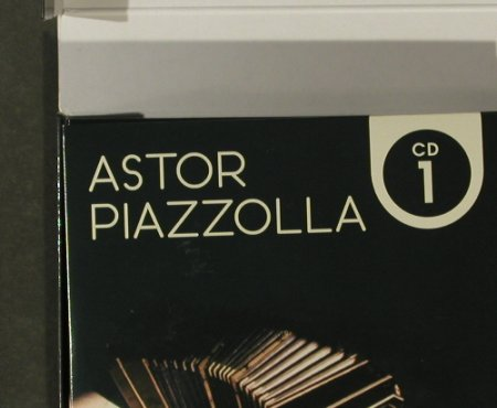 Piazzolla,Astor: 10 CD-Set, Box, Membran Music(205554), D,  - 10CD - 95635 - 15,00 Euro