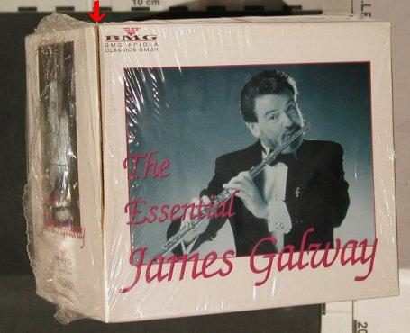 Galway,James: The Essential James Galway,Box Set, BMG(74321 28438 2), D, 1995 - 10CD - 80292 - 30,00 Euro