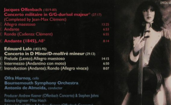 Offenbach,Jacques / Lalo: Concerto Militaire/Concert d-minor, RCA Red Seal(09026 68420 2), EC, 1996 - CD - 80295 - 10,00 Euro