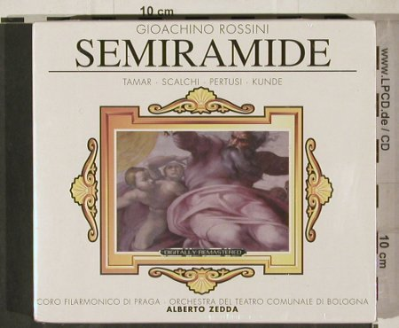 Rossini,Gioacchino: Semiramide, FS-New, Hommage(HOM 7001840), D, 1992 - CD - 80373 - 10,00 Euro