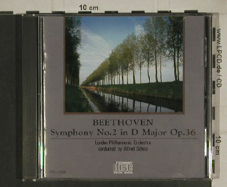 Beethoven,Ludwig van: Symphony No 2 in D Major op.36, CTA(PD-1009), J, 1989 - CD - 80425 - 10,00 Euro