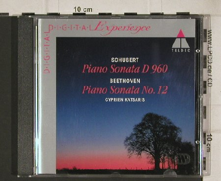 Schubert,Franz / Beethoven: PianoSonata D 960 / No.12, Teldec(4509-99690-2), D, 1995 - CD - 81153 - 7,50 Euro