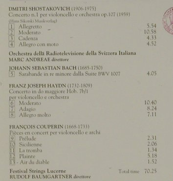 Starker,Janos: Violoncello,Bach,Couperin,Haydn.., Ermitage(ERM 147 AAD), I, 1994 - CD - 81403 - 10,00 Euro