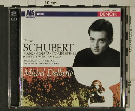Schubert,Franz: Piano Sonatas Complete,D959,960, Denon(CO-18027-28), US, 1997 - 2CD - 81458 - 9,00 Euro
