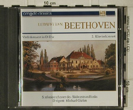Beethoven,Ludwig van: Violinkonzert in D-Dur/2.Klavierkon, Am@do(CD CA 31483), , 2000 - CD - 81490 - 6,00 Euro