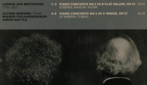 Beethoven,Ludwig van: Piano Concerto No.2 & 3, Philips(462 783-2), D, 2001 - CD - 81503 - 5,00 Euro