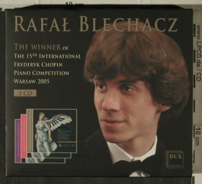 Blechacz,Rafael: Winner of 15th Intern.Chopin Compet, DUX(DUX 0066), PL,Box, 2005 - 3CD - 81505 - 10,00 Euro