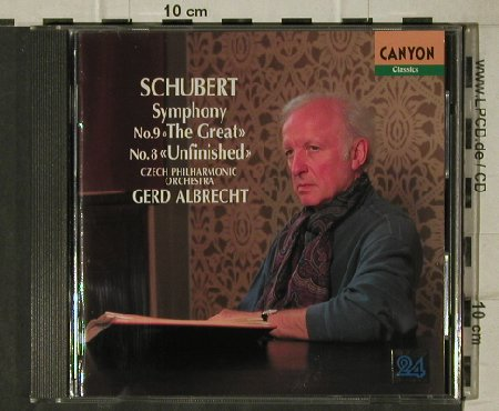 Schubert,Franz: Symphony No.9 & 8, Great/Unfinished, Pony Canyon(PCCL-00287), J, 1995 - CD - 81512 - 7,50 Euro