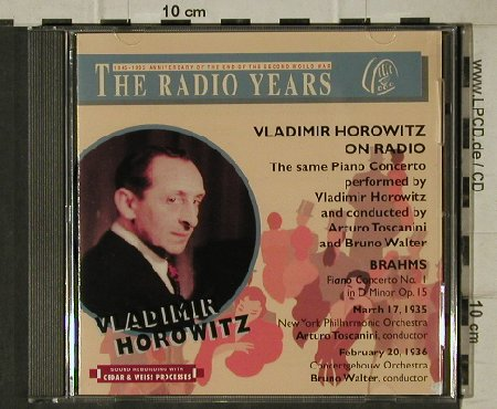 Horowitz,Vladimir: Brahms,Concert.Piano&Orch, op.15 x2, The Radio Years(RY 54), I, 1996 - CD - 81519 - 6,00 Euro