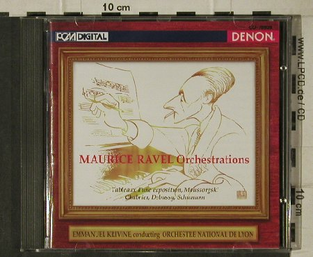 Ravel,Maurice: Orchestrations, Denon(CO-78929), J, 1995 - CD - 81528 - 7,50 Euro