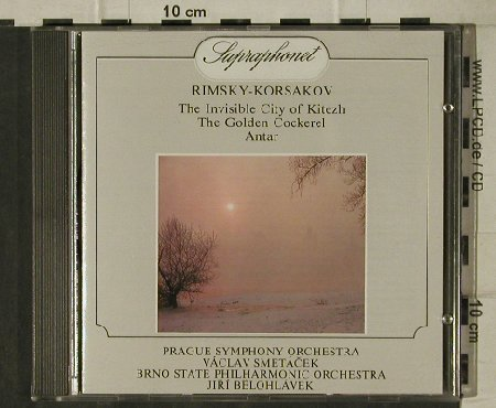 Rimsky-Korsakov,Nicolai: The Invisible City of Kitezh..., Supraphon(11 1107-2), CZ, 1989 - CD - 81530 - 7,50 Euro