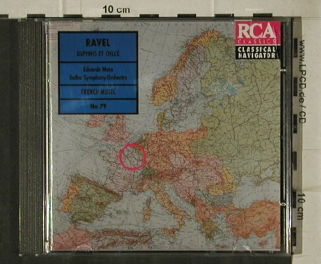 Ravel,Maurice: Daphnis Et Chloe/Mother Goose Suite, BMG Navigator No.79(74321 29257 2), EC, 1995 - CD - 81558 - 5,00 Euro