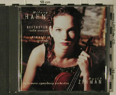 Hahn,Hilary: Beethoven ViolinC/Bernstein Serenad, Sony(42982 9), Club Ed., 1999 - CD - 81643 - 5,00 Euro