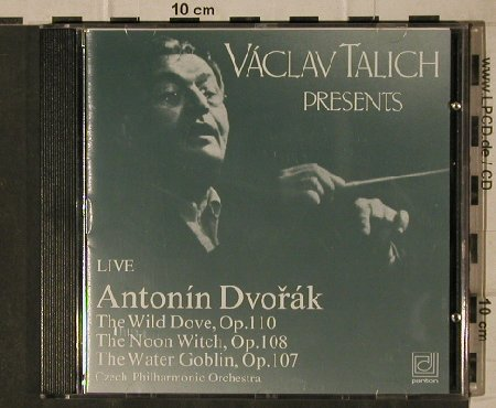 Dvorak,Antonin: Live, The Wild Dove,op.110, Panton(P 81 1100-2), CZ, 1991 - CD - 81664 - 9,00 Euro