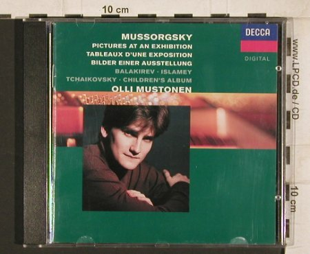 Mussorgsky,Modest/Balakirev/Tchai: Pictures at an Exhibition/Islamey.., Decca(436 255-2), D, 1992 - CD - 81724 - 7,50 Euro