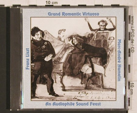 Liszt,Franz: Grand Romantic Virtuoso, Music & Arts(CD-723), US, 1992 - CD - 81742 - 10,00 Euro