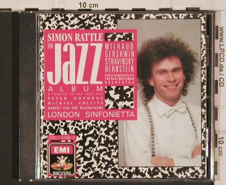 Rattle,Simon: The Jazz Album, EMI(CDC 7 47991 2), UK, 1987 - CD - 81781 - 6,00 Euro