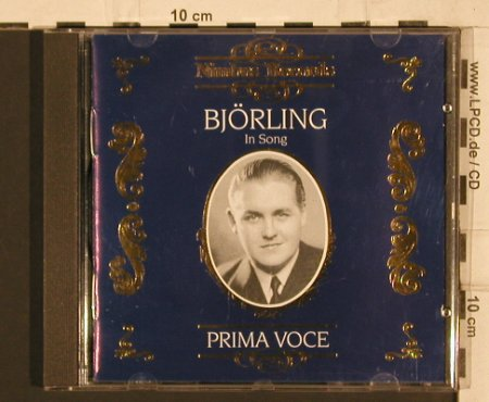Björling,Jussi: In Song (1911-1960), Nimbus Rec.(NI 7879), D, 1996 - CD - 81785 - 4,00 Euro