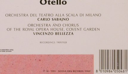 Zenatello,Giovanni: sings Otello - Great Voices, Cedar(PH 5048), I, 1995 - CD - 81796 - 10,00 Euro