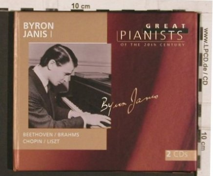 Janis,Byron: Great Pianists of the 20th Century, Philips (Vol.50)(456 847-2), UK, Digi, 1998 - 2CD - 81800 - 10,00 Euro