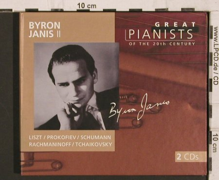 Janis,Byron: Great Pianists of the 20th Century, Philips (Vol.51)(456 850-2), UK, Digi, 1998 - 2CD - 81801 - 10,00 Euro