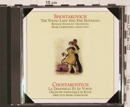 Shostakovich,Dimitri: The Young Lady and the Hooligan, Harmonia Mundi(RUS 788105), F, 1997 - CD - 81806 - 15,00 Euro