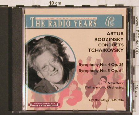 Rodzinsky,Artur: The Radio Years,Tchaikovky,op.36,64, Cedar & Weiss Processes(RY 94), I, 1998 - CD - 81812 - 10,00 Euro