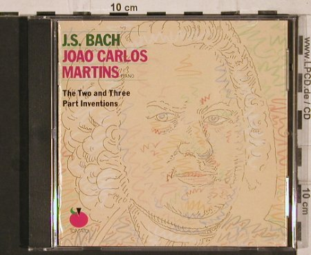 Bach,Johann Sebastian: The Two and Three Part Inventions, Tomato(2696472), NL, 1988 - CD - 81853 - 7,50 Euro