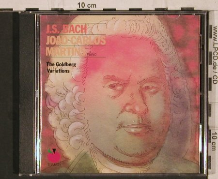 Bach,Johann Sebastian: The Goldberg Variations, Tomato(2696442), NL, 1989 - CD - 81854 - 7,50 Euro