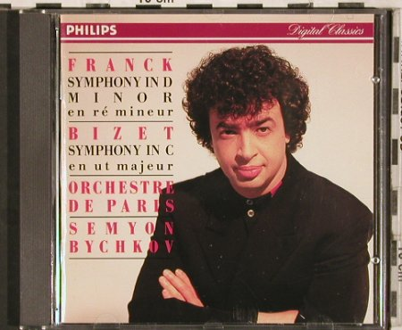 Franck,Cesar / Bizet: Symphony in D Minor/Symph.in C, Philips(432 096-2), D, 1992 - CD - 81866 - 10,00 Euro