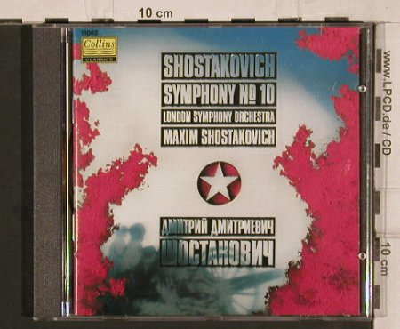 Shostakovich,Dimitri: Symphony No.10, Collins(11062), UK, 1990 - CD - 81884 - 10,00 Euro
