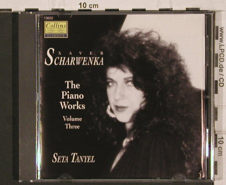 Scharwenka,Xaver: The Piano Works 3 - Seta Tanyel, Collins(13652), UK, 1993 - CD - 81893 - 10,00 Euro