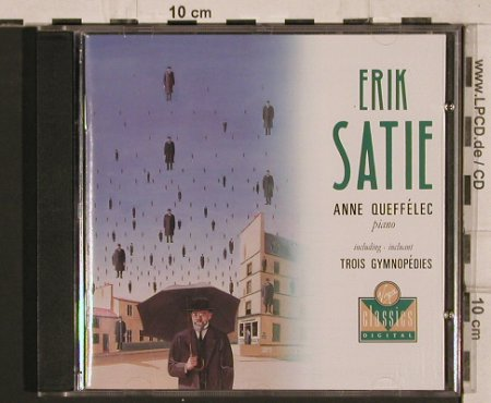 Satie,Eric: Six Gnossiennes,Trois Gymnopédies, Virgin Classics(0777 7595152 3), D, 1988 - CD - 81939 - 7,50 Euro