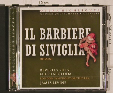 Rossini,Gioacchino: IL Barbiere di Siviglia, highlights, Disky(DCL 706562), EU, 2000 - CD - 81940 - 6,00 Euro
