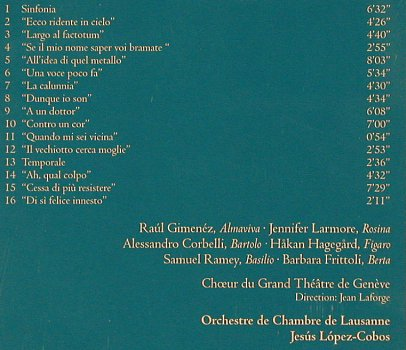 Rossini,Gioacchino: IL Barbiere di Siviglia, highlights, Teldec (69)(8573-89349-2), D, 2001 - CD - 81941 - 5,00 Euro