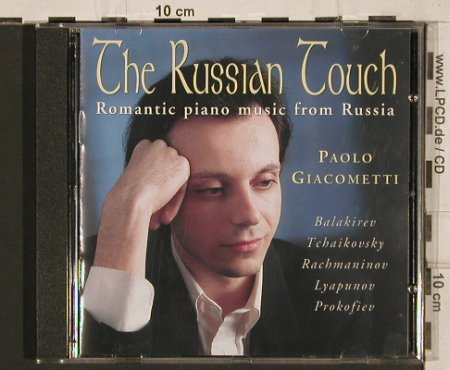Giacometti,Paolo: The Russian Touch, Mastertone/Columns(0323), UK, 1997 - CD - 81955 - 7,50 Euro