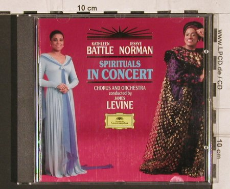 Battle,Kathleen - Jessye Norman: Spirituals in Concert, D.Gr.(429 790-2), D, 1991 - CD - 81977 - 5,00 Euro