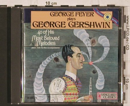 Gershwin,George: 40 of his Most Beloved Melodies, Vanguard(08 6002 71), 16 Tr., 1991 - CD - 82005 - 12,50 Euro
