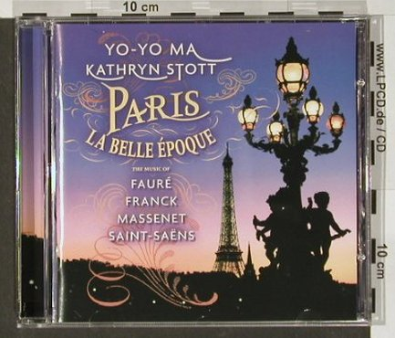 Yo-Yo Ma / Kathryn Stott: Paris La Belle Epoque, Sony(), , 2003 - CD - 82053 - 7,50 Euro