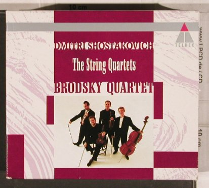 Shostakovich,Dimitri: The String Quartets, Boxed, Teldec(9013-71702-2), D, 1990 - 6CD - 82120 - 17,50 Euro