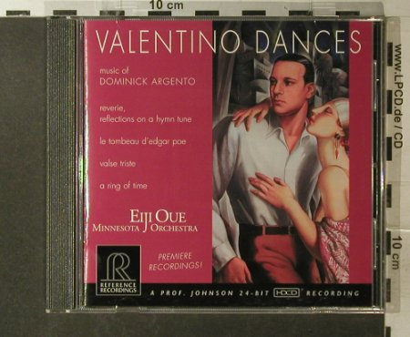 Argento,Dominick: Valentino Dances, Reference(RR-9), US, 2000 - CD - 83936 - 10,00 Euro