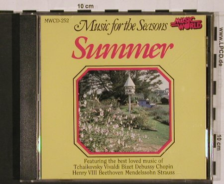 V.A.Music for the seasons -Summer: Beethoven,Bizet, Debussy...13 Tr., Music World(MWCD-252), UK, 1992 - CD - 84129 - 10,00 Euro