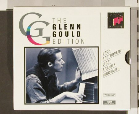 Gould,Glenn: The Edition, Vol.2 , Box, Sony(SX6K 52 691), A, 93 - 6CD - 90862 - 24,00 Euro