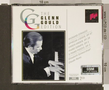 Gould,Glenn - R.Strauss: The Edition,Opelia-Lieder, Sony(SM2K 52 657), A, 1993 - 2CD - 90869 - 12,50 Euro