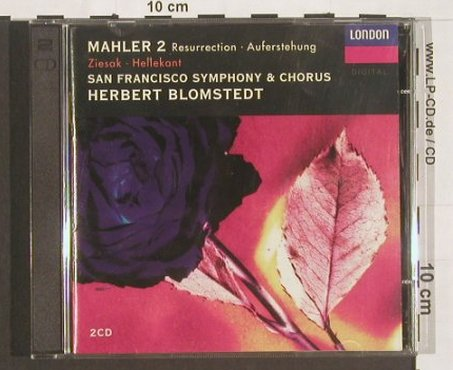 Mahler,Gustav: Resurrection, Auferstehung, London(), US, co, 94 - 2CD - 91089 - 10,00 Euro
