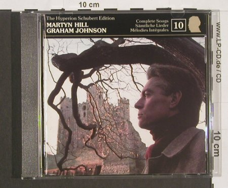 Schubert,Franz: Martyn Hill, Graham Johnson, Hyperion(Schubert Ed.10)(CDJ33010), UK, 1990 - 2CD - 91142 - 10,00 Euro