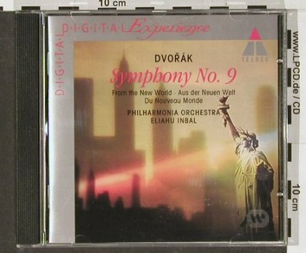 Dvorák,Antonín: Symphony No. 9 in E minor, Teldec(), D, 1993 - CD - 91316 - 5,00 Euro