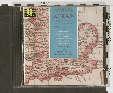 V.A.London: Händel,Purcell,Humfrey..., United(), , 93 - CD - 91333 - 5,00 Euro