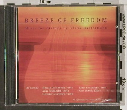 Hastermann,Klaus: Breeze Of Freedom, FS-New, Vilbelmusic(), ,  - CD - 91420 - 7,50 Euro