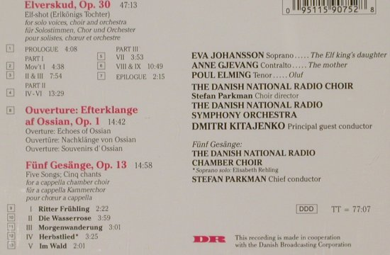 Gade,Niels W.: Elverskud, Echoes of Ossian Overtur, Chandos(), A, 92 - CD - 91484 - 10,00 Euro